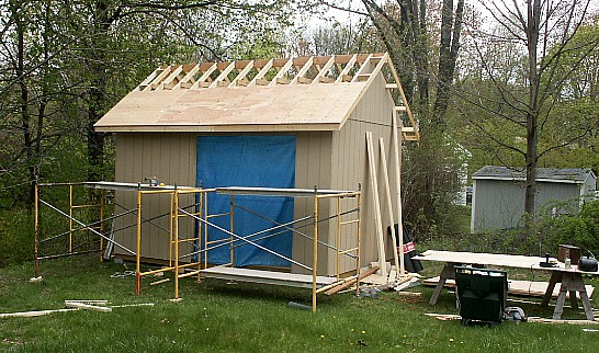Shed Roof Plywood Nolaya
