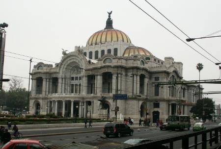 Mexico vacation day 1 for Sanborns bellas artes